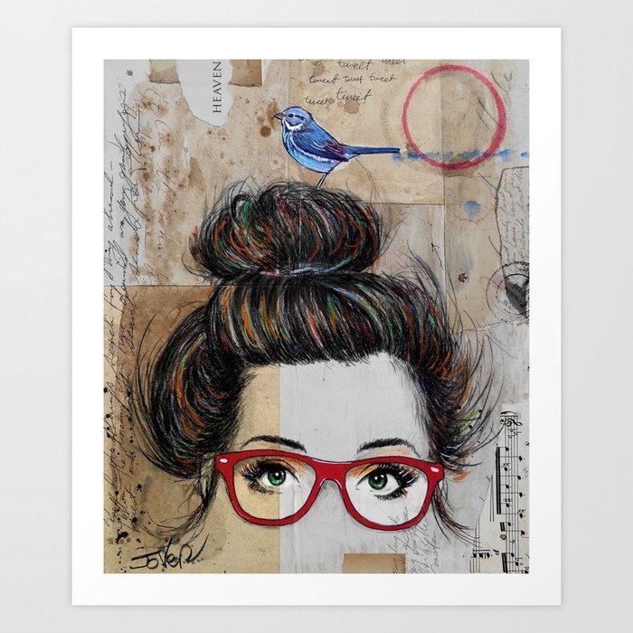 NEVERTHELESS Art Print