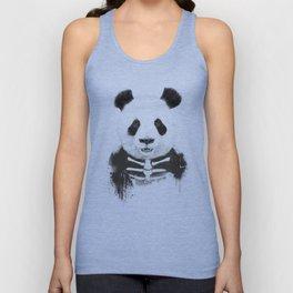 Zombie panda Unisex Tanktop