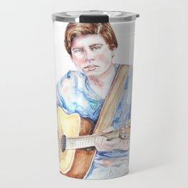 Sam Woolf - Watercolor Travel Mug