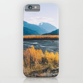Alaskan Autumn - Kenai Fjords National Park iPhone Case