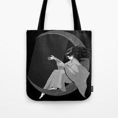 Crescent Melody Tote Bag