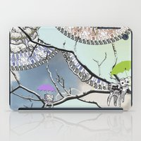 tooth iPad Cases featuring Family Tooth by infloence