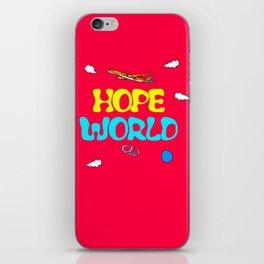 BTS Jhope Hope Worl Design iPhone Skin