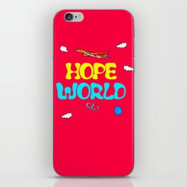 BTS Jhope Hope Worl Design iPhone Skin