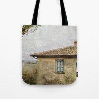 italian Tote Bags featuring Italian Farm by ZenzPhotography