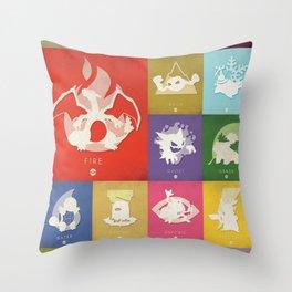POKÉMON Red Throw Pillow