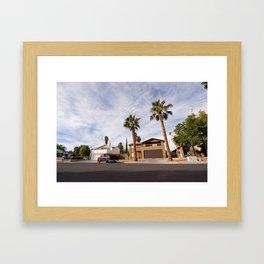 las vegas (one) Framed Art Print