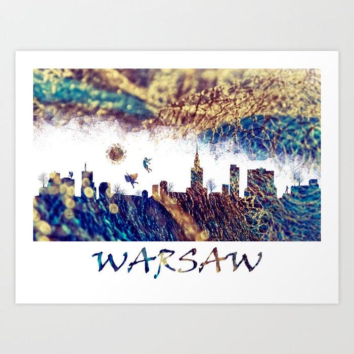 warsaw Art Print