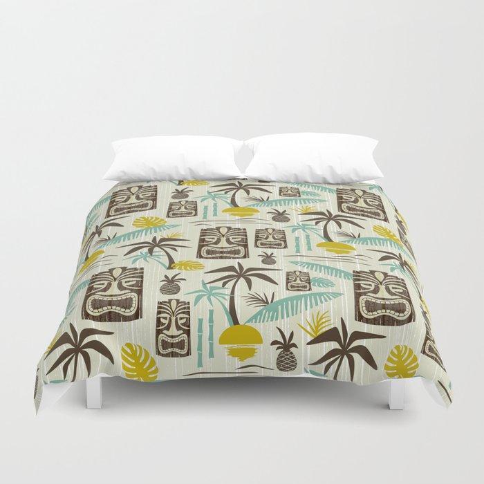 Island Tiki - Tan Bettbezug