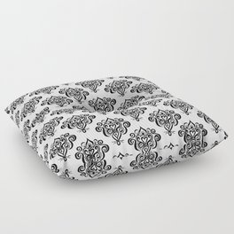 Bound heart pattern Floor Pillow