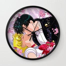 Eternal Kiss Wall Clock