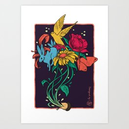 Seeds of Inspiration Art Print