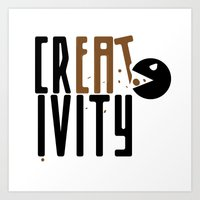 creativity Art Prints featuring creativity by Andrea Bettin ART