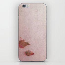 simple autum iPhone Skin