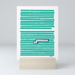 Learn Mini Art Print