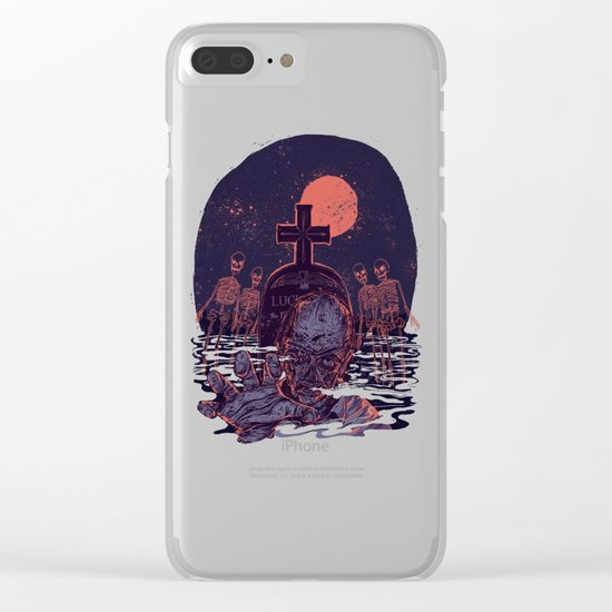 Lucien Clear iPhone Case