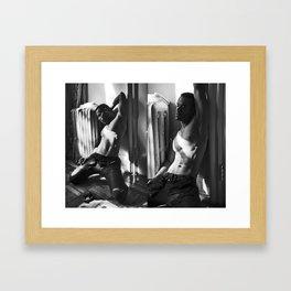 Desir Framed Art Print