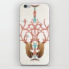 christmas deer iPhone & iPod Skin
