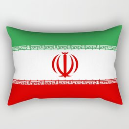 flag of iran- Persia, Iranian,persian, Tehran,Mashhad,Zoroaster. Rectangular Pillow