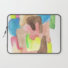 171013 Invaded Space 12 abstract shapes art design  abstract shapes art design colour Laptop Sleeve