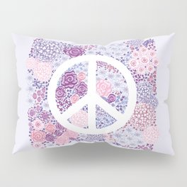 Peace and love Pillow Sham