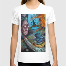 Tree In The Window - Painting by Landon Huber T-shirt