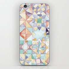 watercolour quilt iPhone & iPod Skin