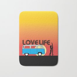Love Life - Surf Van Bath Mat