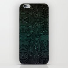 Circuitry Details iPhone & iPod Skin