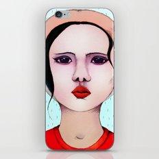 Miss Rain iPhone & iPod Skin
