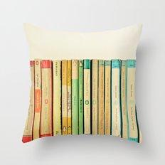 Birds on Parade Throw Pillow