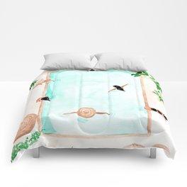 Pool Day Comforters