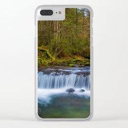 Cascada Valul Miresei, Romania Clear iPhone Case