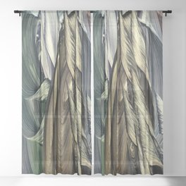Dwarves Sheer Curtain