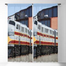 Engine 664 Lakawanna Railroad Blackout Curtain
