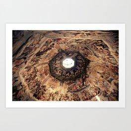 Vasari Fresco, Brunelleschi cupola, Florence Duomo Art Print