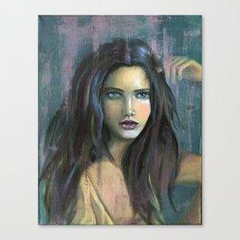 Adolphine Wolf Woman Original Canvas Print