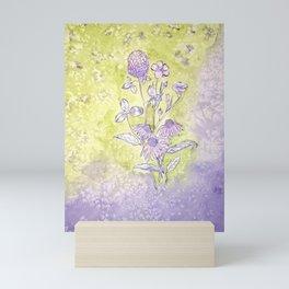Wild flowers Mini Art Print