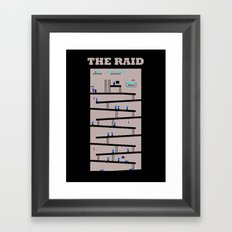 The Raid Framed Art Print