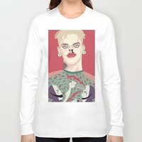 boy Long Sleeve T-shirts featuring boy by snsemstlcp