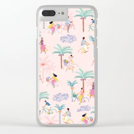 Let's Ride! Clear iPhone Case