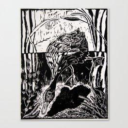 One Little Duck Canvas Print