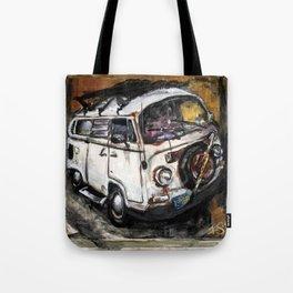 Rusty Bus Tote Bag