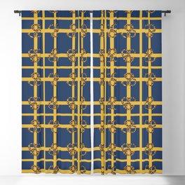 Leopard Check Mix Pattern Print I Blackout Curtain