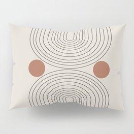 Modern Minimalistic Art Pillow Sham