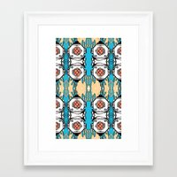 scuba Framed Art Prints featuring Scuba Squad by Marc Douglas Weiss