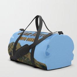 Bear Butte South Dakota Duffle Bag