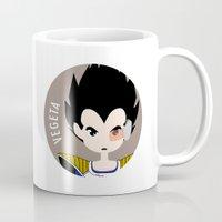 vegeta Mugs featuring Vegeta by gaps81