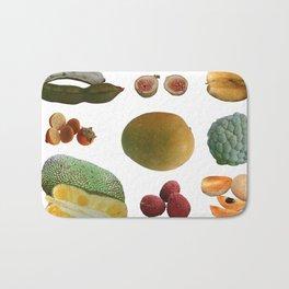 Exotic Fruit Collage Bath Mat