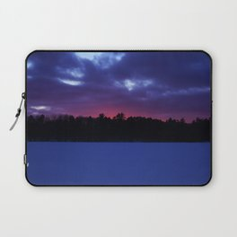 Subzero sunset Laptop Sleeve